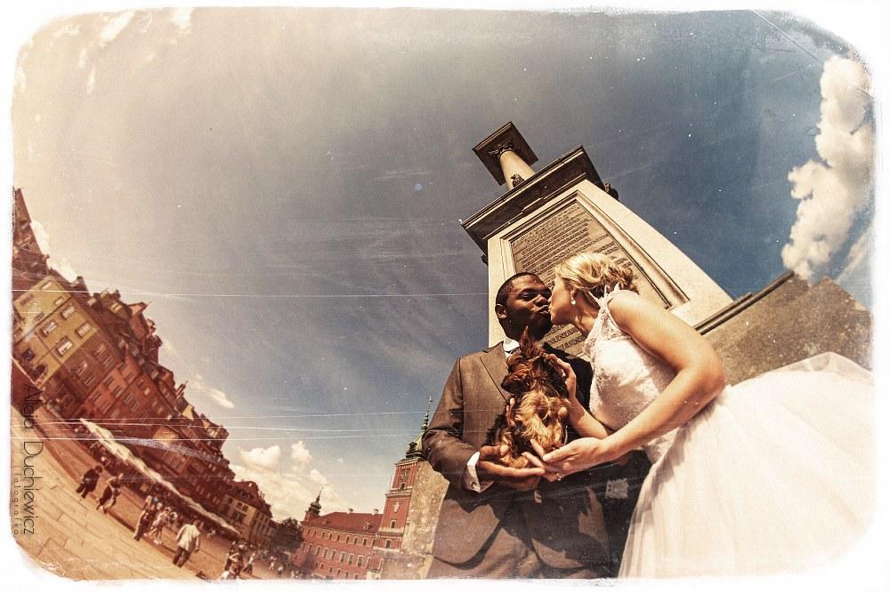 york na sesji ślubnej