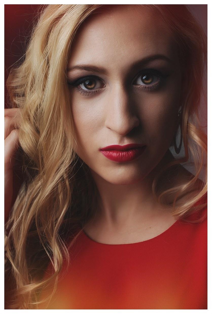 piękna kobieta, sesja fotograficzna