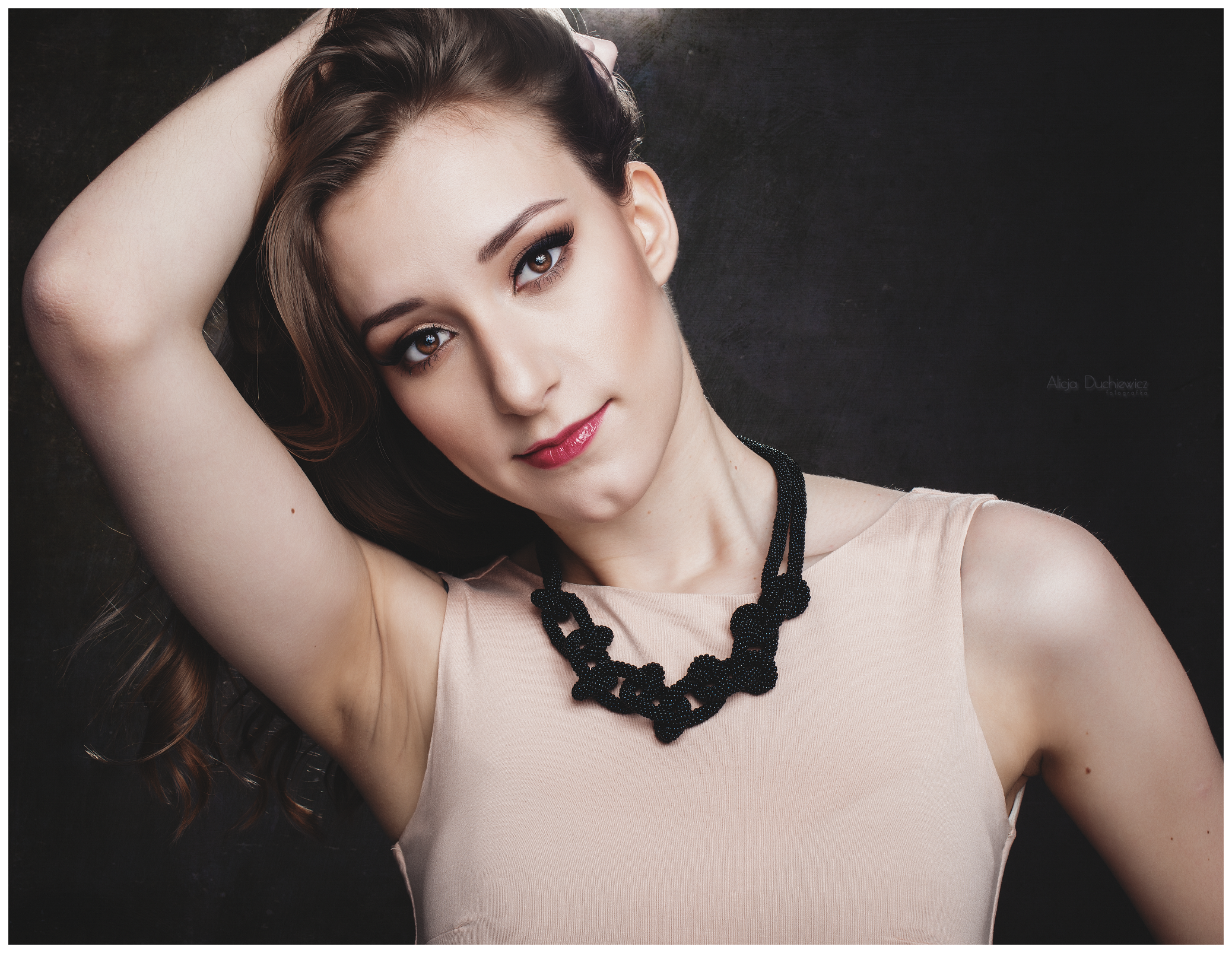 beautiful, beauty, black necklace, color #eyes #female #girl #hair #light #model #portrait #pretty #sexy #studio #studio session #stunning #women