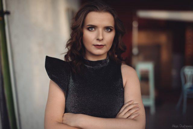 Magda Radziej Harpiya, sesja fotograficzna Warszawa