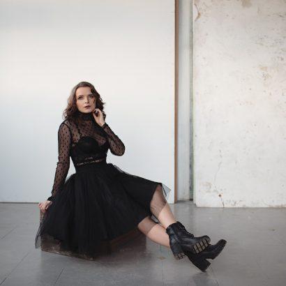 Magda Radziej Harpiya, sesja zdjęciowa