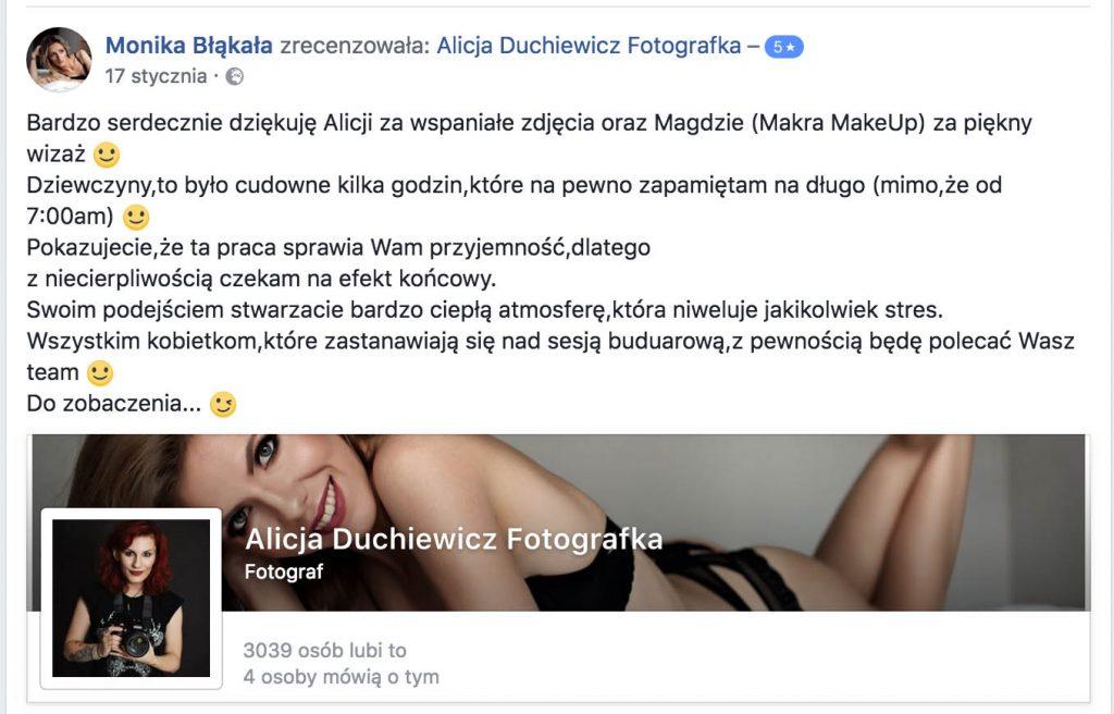 Alicja Duchiewicz opinie