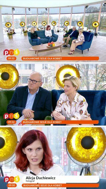 Alicja Duchiewicz gościem w Pytanie na Śniadanie