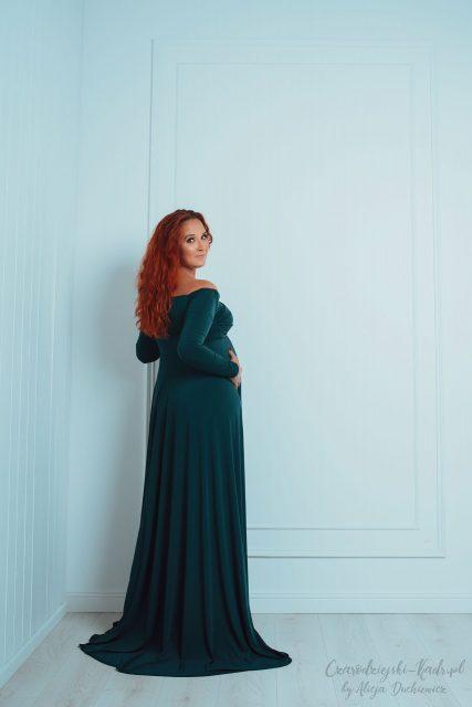 Ania - przepiękna kobieta w ciąży.