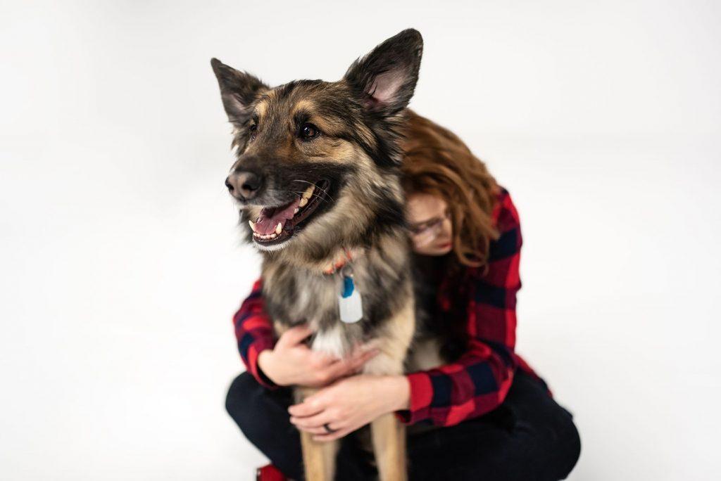 Z psem na obcasach - sesja fotograficzna z psem by Alicja Duchiewicz Fotografka