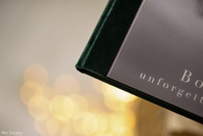 Fotoksiążka acryl prestige z welurową okładką