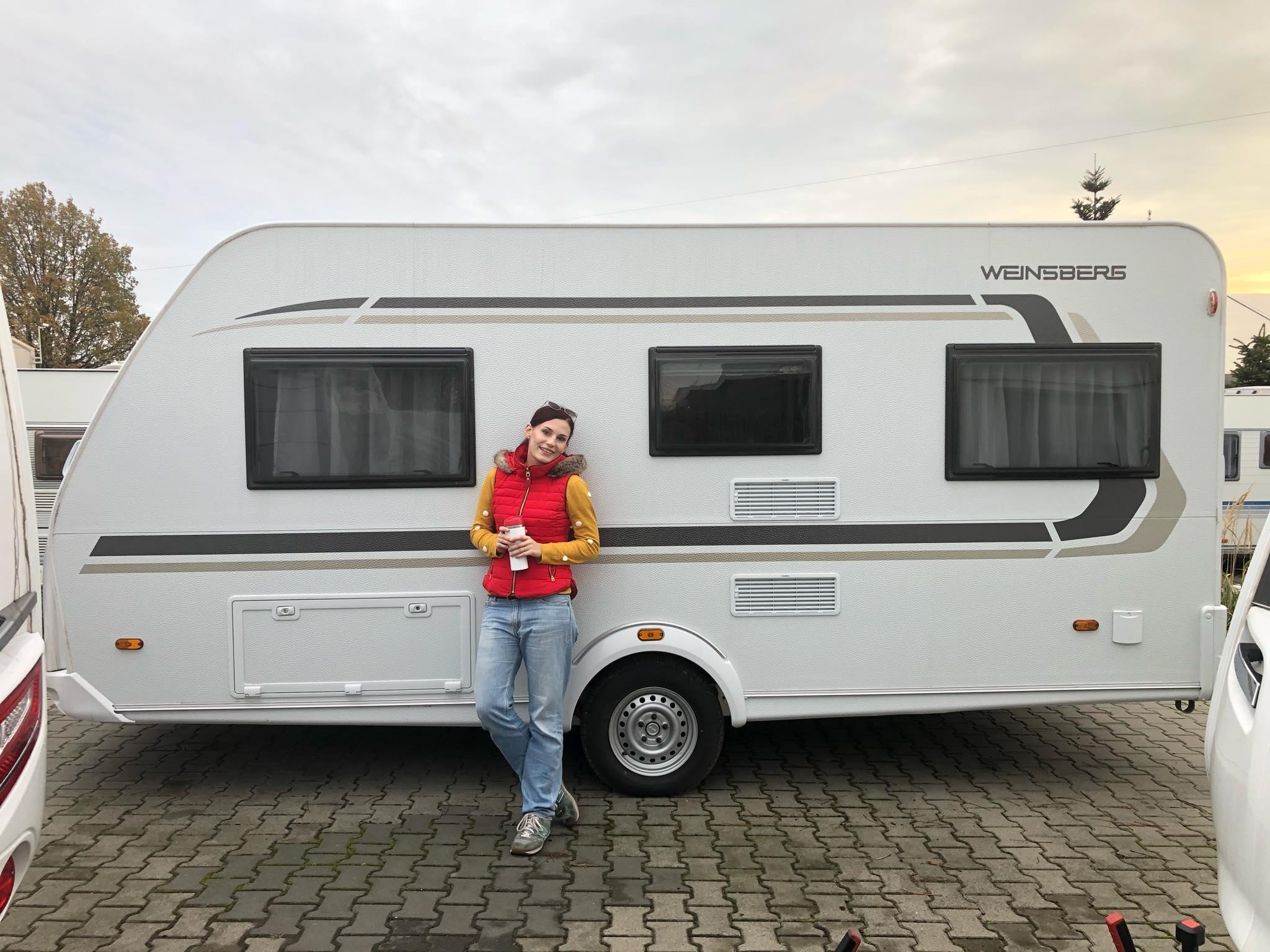 Przyczepa kempingowa Weindsberg Cara One FU 450